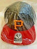 New Pittsburgh Pirates MLB Baseball 47' Captain Snapback Hat Cap, Adjustable