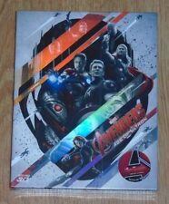 Avengers: Age of Ultron (blu-ray) Steelbook - novamedia (Fullslip). NEW & SEALED