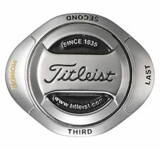 Titleist Japan Golf Ball Twin Marker AJBM61 2016 New Silver Black