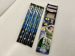 Disney Bic Pixar Toy Story Buzz Lightyear w/ Emperor Zurg Pencil B - Lot of 8