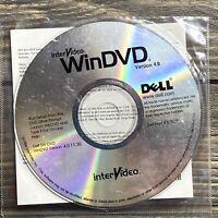 Dell Inter-Video WinDVD Set-up DVD Version 4.0