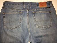 Men's Lucky Brand Blue Jeans Pants Relaxed Straight Size 38