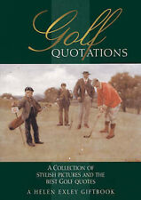 """""""AS NEW"""" , Golf Quotations (In Quotations), Book"""