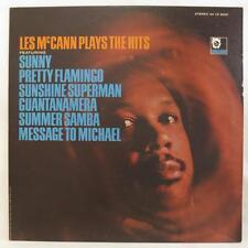 LES McCANN Plays the Hits LP Limelight LS-86041 Jazz Record NM Vinyl w/inner