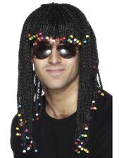 Unisex Reggae Funky Parrucca intrecciata FANCY DRESS Stag Bob GALLINA MUSICA FESTIVAL Marley