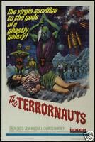 The terrornauts Horror cult movie poster print