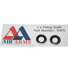 2x Air Arms Dowty Bonded Washer Filling Seal for s200 s300 s310 s400 s410 - S465