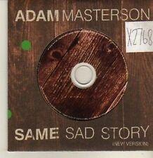 (CP458) Adam Masterson, Same Sad Story - 2003 DJ CD