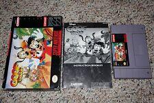 Disney's Goof Troop (Super Nintendo SNES, 1993) Complete in Box GREAT H