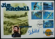 Britain Architects Of The Air 1997 Aircraft Airplane (FDC) Signed Jim Mitchell
