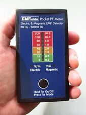 EMF Meter Gauss Meter PF5 Electric + Magnetic Field Detector Portable Accurate!