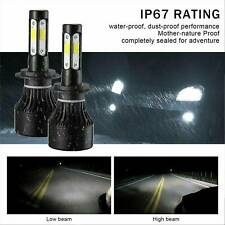 Pair H7 1820W 273000LM CREE LED Headlight Kit Driving Lamp Globes Canbus