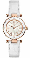 Guess Collection GC Women's Mother-of-Pearl Rose Gold Tone Watch - X70033l1S
