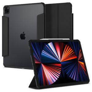 iPad Pro 2021 Case   Spigen® [Ultra Hybrid Pro] Shockproof Slim Clear Cover
