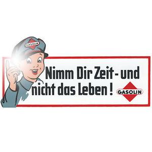 Nimm Dir Zeit und nicht das Leben 15cm Aufkleber Sticker Retro Oldtimer Racing