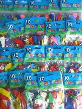 Globos de fiesta redondas color principal multicolor
