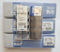 10x TAG N3C IC 808 + 1x TGFH 32-3 +1x ETG 3-4 KIT  Iscar