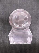 Soccer trophy acrylic award ball