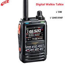 YAESU FT5DR Digital Walkie Talkie Handheld Transceiver 5W 3KM Two Way Radio