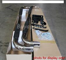 05-13 TOYOTA TACOMA DOUBLE CAB 3' STAINLESS Side Step Nerf Bars Running Board