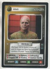 """Star Trek Voyager CCG RARE Card No.161R """"Arturis"""""""