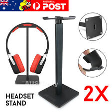 2x Universal Gaming DJ Gamer Headphone Headset Hanger Bracket Holder Rack Stand