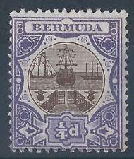 Mint Hinged Edward VII (1902-1910) Bermudian Stamps