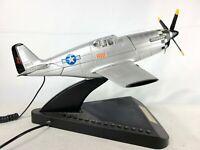 P-51 Mustang Fighter Aircraft Telephone Desk Phone Plane Gun Sound Ringer