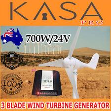 Wind Turbine Generator 3 Blade Digital Hybrid Wind/Solar Controller 700W 24V