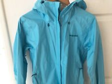 Patagonia women's torrenshell jacket size small blue
