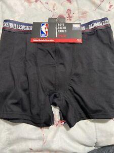 NWT - NBA Boy's Boxer Briefs 2 Pack  Size: L