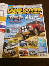 LAND ROVER OWNER INTERNATIONAL - IMPROVE YOUR SUSPENSION - JULY 2009