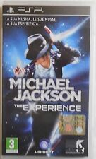 PSP MICHAEL JACKSON THE EXPERIENCE UBISOFT SONY GIOCO