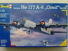 """Revell 04606 Heinkel He 177 A-6 """"Greif"""" & Hs 293 1:72 Neu in versiegelter OVP"""