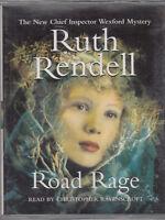 Road Rage Ruth Rendell 2 Cassette Audio Book Wexford Abridged Crime Thriller
