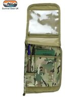 Kombat BTP A5 Army Notebook Nirex orders folder holder works with MTP /Multicam