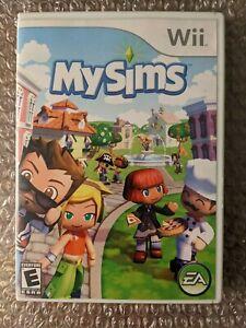 MySims (Nintendo Wii,) CIB