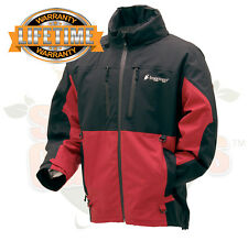 XL Frogg Toggs Pilot II Guide Fishing Rain Jacket Red & Black