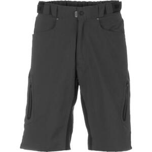 Zoic Men's Ether Shorts w/ Essential Liner Color Shadow Size X-Large NWT