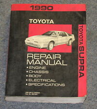 1990 Toyota Supra Service Repair Manual