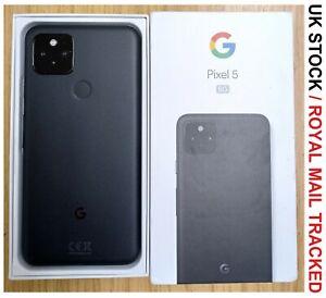 Google Pixel 5 5G (2020) GTT9Q - 128GB - Just Black Unlocked Grade B+