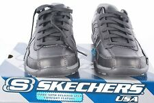 SKECHERS Shaver NORCO Black Sneakers Left shoe:7/Right shoe:7.5 NWD*