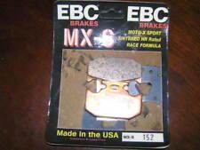EBC CARBON Disc pads FA152MX  KAWASAKI KDX200 89-06, SUZUKI DR350, YAMAHA