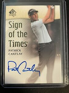2014 sp authentic patrick cantlay auto