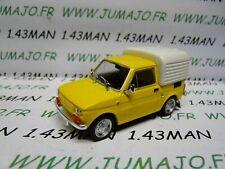 PL129 Car 1/43 Ixo ist Déagostini Poland :Fiat 126P Bombel Pick-Up