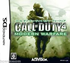 Used DS Call of Duty 4: Modern Warfare  NINTENDO JAPANESE IMPORT