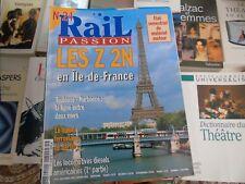 Rail Passion n°24 les Z2 N en île de France loco diesel américaine train Berlin