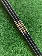 True Temper Dynamic Gold S400 Tour Issue ONYX Wedge Shafts 3 Piece Set