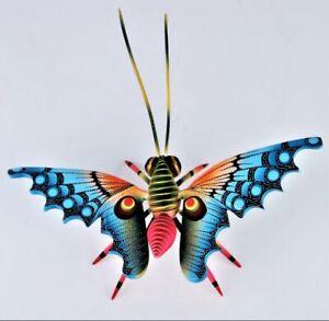 Oaxacan Wood Carving Blas Butterfly Insect Oaxaca Mexican Folk Art Alebrije