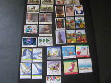 Australia Stamps 33 Assorted Stamps from 1986-1988 Never Hinged Unused Lot 18